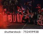 rome  italy 4 november 2017.... | Shutterstock . vector #752459938