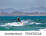 fuerteventura  spain   circa...   Shutterstock . vector #752470216
