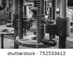 old machines close up | Shutterstock . vector #752533612