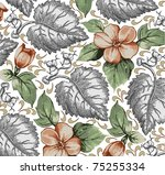 vector. beautiful background... | Shutterstock .eps vector #75255334