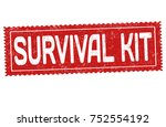 survival kit grunge rubber...