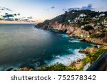 Small photo of The Quebrada cliff is a famous atraction of Acapulco.