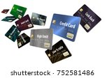 choosing the right credit card... | Shutterstock . vector #752581486