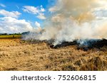 Burning Straw Stubble Farmers...