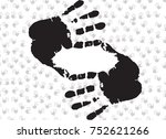 frame with cropping symbol made ...   Shutterstock . vector #752621266