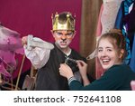 Child Actor Dressed As King...