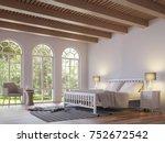 Scandinavian Bedroom 3d...