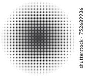 vector halftone backgrounds | Shutterstock .eps vector #752689936