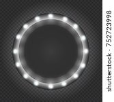 circle black frame  box  banner ...   Shutterstock .eps vector #752723998