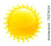 sun  10eps | Shutterstock .eps vector #75274114
