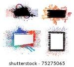 isolated creative design ... | Shutterstock .eps vector #75275065