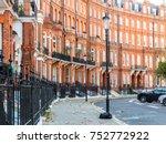 london   november 2017. a view... | Shutterstock . vector #752772922