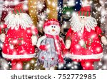 Christmas Toys. Santa Claus....