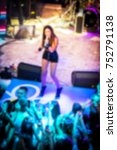 blurred for background. ibiza... | Shutterstock . vector #752791138