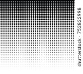 vector halftone for backgrounds ... | Shutterstock .eps vector #752822998