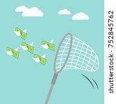 vector illustration business... | Shutterstock .eps vector #752845762