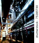 industrial zone  steel... | Shutterstock . vector #75285730