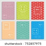 collection of sale banners ...   Shutterstock .eps vector #752857975