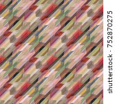 abstract colorful geometric... | Shutterstock .eps vector #752870275