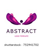 abstract logo template | Shutterstock .eps vector #752941702