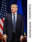 new york  usa   sep 21  2017 ... | Shutterstock . vector #752947072