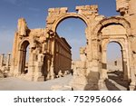 Arch Of Triumph. Ruins Of The...