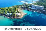 aerial drone bird's eye photo... | Shutterstock . vector #752970202