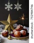 heap traditional dutch... | Shutterstock . vector #752984746