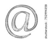 light gray textured stone at...   Shutterstock . vector #752994358