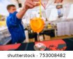 blurred for background. beach... | Shutterstock . vector #753008482