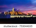 bangkok  thailand   november 10 ... | Shutterstock . vector #753044035