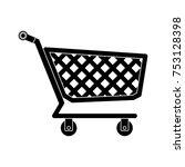 shopping cart icon | Shutterstock .eps vector #753128398