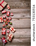 merry christmas. decoration for ... | Shutterstock . vector #753130516