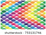 colorful leaves design | Shutterstock .eps vector #753131746