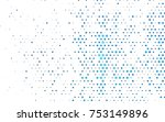 light blue vector red pattern... | Shutterstock .eps vector #753149896