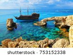 the bridge of love or love...   Shutterstock . vector #753152338