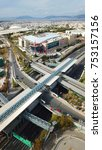 november 2015  aerial drone... | Shutterstock . vector #753157156