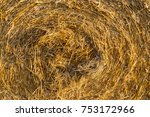 Twisted Straw From Harvested...