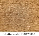 decorative painting of a wooden ... | Shutterstock . vector #753190096