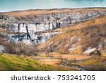 Malham Cove Is A Natural...