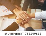 Small photo of Business Shake Hands Showing Trustworthy Team Work . Managing Small BUSINESS with Incentives to Work as System Incorporating a Strong Network. Lead to Successful Business. Hands Together concept