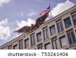 london  november  2017  embassy ... | Shutterstock . vector #753261406