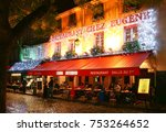 paris   france  november 11 ... | Shutterstock . vector #753264652
