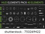 hud elements pack. 40 elements...