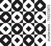 abstract geometric pattern | Shutterstock .eps vector #753272872