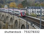 detail of electrical railroad... | Shutterstock . vector #753278332
