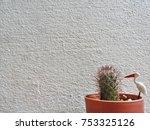 background of cactus   Shutterstock . vector #753325126