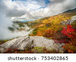 dramatic autumn scenic...   Shutterstock . vector #753402865