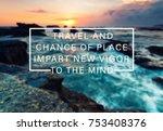 inspirational and motivational... | Shutterstock . vector #753408376