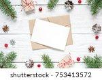 Christmas Blank Greeting Card...